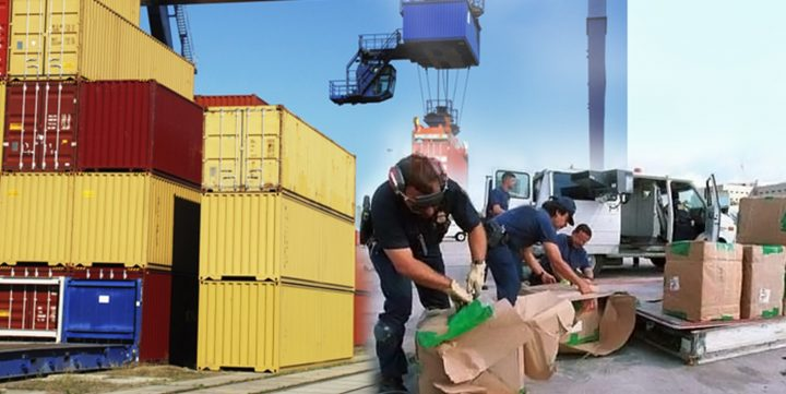 What is a customs inspection?